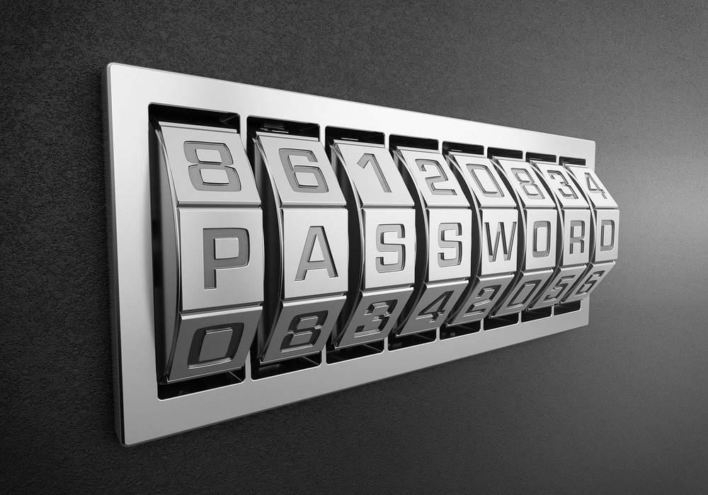 数字パスワードでロック